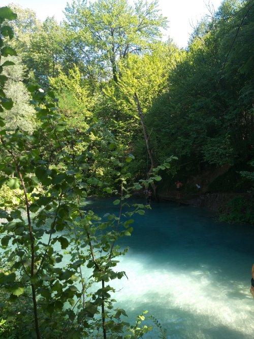 Γαλάζια Λίμνη, Σκρα Κιλκίς